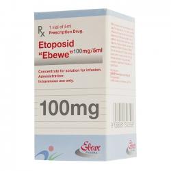 Thuốc Etoposide Ebewe 100mg/5ml