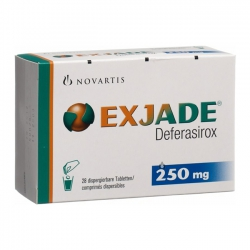 Thuốc Exjade 250mg, Hộp 28 viên