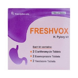 Thuốc Freshvox, Hộp 7 kít x 06 viên