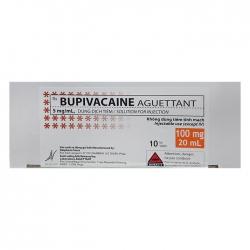 Thuốc gây tê tại chỗ Bupivacaine 10 lọ