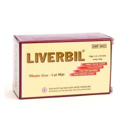 Thuốc giải độc gan Liverbil