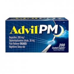 Thuốc giảm đau Advil PM 200mg 200 viên
