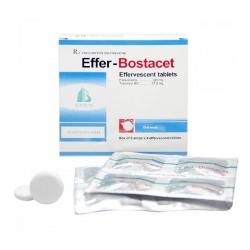 Thuốc giảm đau Boston Effer Botacet, Hộp 20 viên sủi