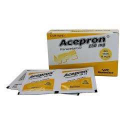 VPC Acepron 250mg, Hộp 12 gói