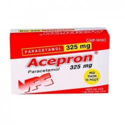 Thuốc giảm đau hạ sốt Acepron 325 - Paracetamol 325mg
