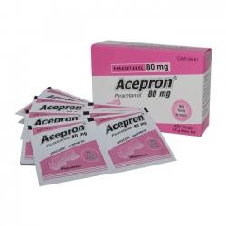 VPC Acepron 80mg, Hộp 20 gói