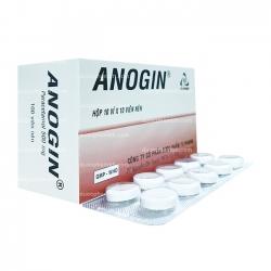Thuốc giảm đau hạ sốt ANOGIN - Acetaminophen 500mg