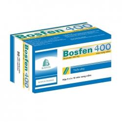Bosfen 400mg Boston, Hộp 20 viên