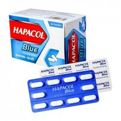 Thuốc giảm đau - hạ sốt DHG Hapacol Blue 500, Hộp 100 viên