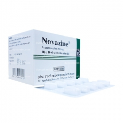 Thuốc giảm đau hạ sốt NOVAZINE - Acetaminophen 500mg