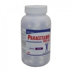 VPC Paracetamol 500mg, Hộp 200 viên