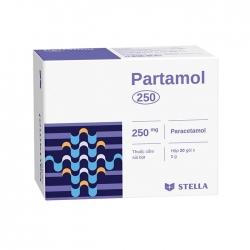Thuốc giảm đau hạ sốt Stella Partamol 250