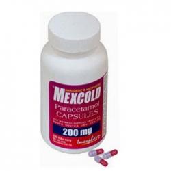 Thuốc giảm đau Imexpharm Mexcold 200mg, Chai 200 viên
