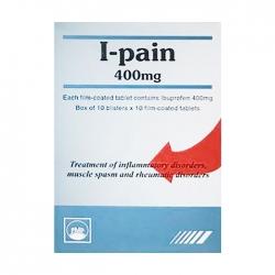 Thuốc giảm đau PMP I-Pain 400mg, Hộp 100 Viên
