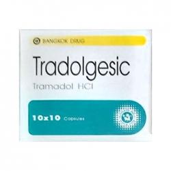 Thuốc giảm đau Tradolgesic, Hộp 100 viên