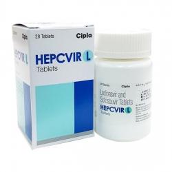 Thuốc Cipla Hepcvir L, Hộp 28 viên