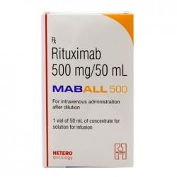 Thuốc Hetero Maball 500mg Rituximab 500mg/50ml