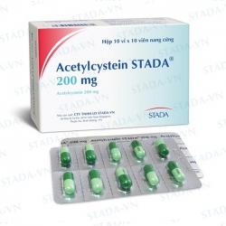 Thuốc ho Acetylcystein STADA 200 mg