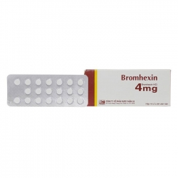 Thuốc ho Bromhexin 4mg Dp 3/2, Hộp 200 viên
