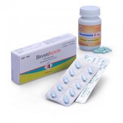 Thuốc ho DMC Bromhexin 8mg, Hộp 30 viên
