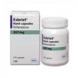 Thuốc điều trị xơ phổi Roche Esbriet 267mg, Hộp 270 viên