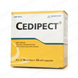 Thuốc hô hấp Imexpharm Cedipect 100mg, Hộp 100 viên