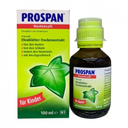 Thuốc ho Prospan Đức cho bé 100ml