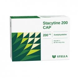 Thuốc ho Stella Stacytine 200mg CAP, Hộp 100 viên
