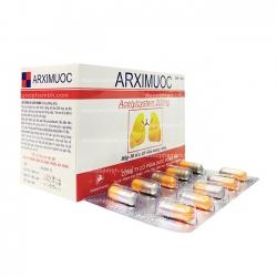 Thuốc hỗ trợ hô hấp ARXIMUOC - Acetyl Cystein 200mg