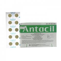 Thuốc hỗ trợ tiêu hóa Antacil | Hộp 25 vỉ x 10 viên