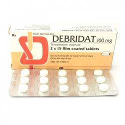 Thuốc hỗ trợ tiêu hóa Debridat 100 mg | Hộp 2 vỉ x 10 viên