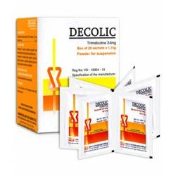 Thuốc hỗ trợ tiêu hóa Decolic 24mg | Hộp 20 gói x 1.15g