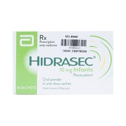 Thuốc hỗ trợ tiêu hóa Hidrasec 10Mg | Hộp 16 gói