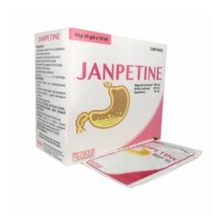 Thuốc hỗ trợ tiêu hóa Janpetine - Simethicon 600mg
