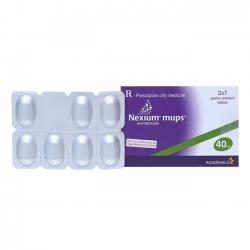 Thuốc Nexium mups 40mg, Hộp 14 viên