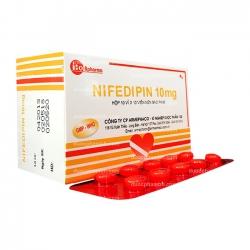 Thuốc hỗ trợ tim mạch NIFEDIPIN - Nifedipin 20mg