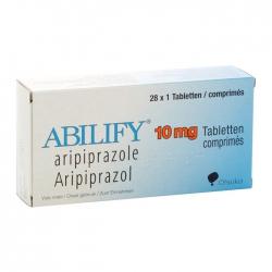 Thuốc hướng thần Abilify 10mg, Hộp 28 viên