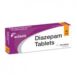 Thuốc hướng thần Actavis Diazepam Tablets 10mg 28 viên
