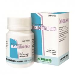 Thuốc hướng thần Danapha Dalekine 500 Chai 40 viên