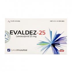 Thuốc hướng thần Davipharm Evaldez 25mg