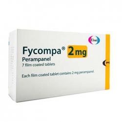 Thuốc hướng thần Fycompa Perampanel 2mg, Hộp 28 viên