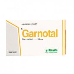 Thuốc hướng thần Garnotal, Hộp 100 viên