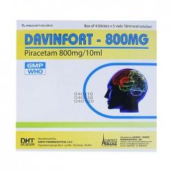 Thuốc hướng thần Hataphar Davinfort 800mg 20 ống