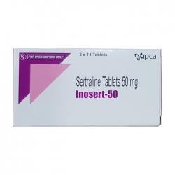 Thuốc hướng thần Ipca Inosert 50mg, Hộp 28 viên