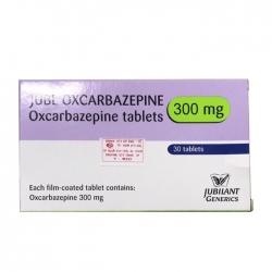 Thuốc hướng thần Jubl Oxcarbazepine Tablets 300mg, Hộp 30 viên
