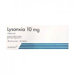 Thuốc hướng thần Lysanxia 10mg, Hộp 40 viên