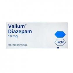 Thuốc hướng thần Roche Valium Diazepam 10mg 50 viên
