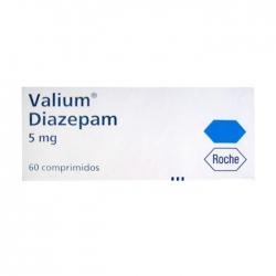 Thuốc hướng thần Roche Valium Diazepam 5mg 60 viên