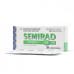 Thuốc hướng thần Semirad 10 mg 30 viên