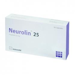 Thuốc hướng thần Square Neurolin 25 30 viên